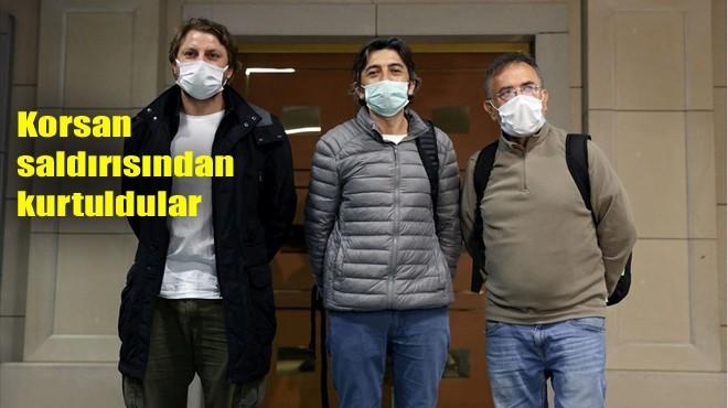 3 DENİZCİ İSTANBUL'DA