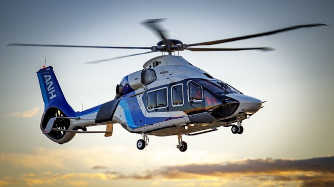 ALL NIPPON HELICOPTER'E YENİ H160