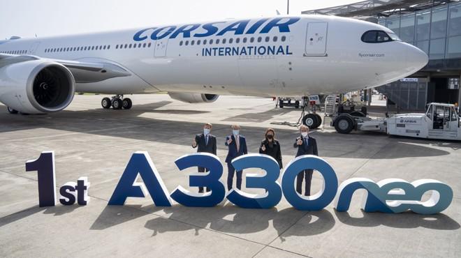 CORSAIR İLK A330NEO'SUNU ALDI
