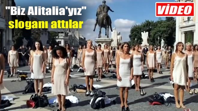 ESKİ ÇALIŞANLARIN PROTESTOSU