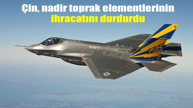 F-35 ÜRETİMİ İÇİN ENGEL OLABİLİR