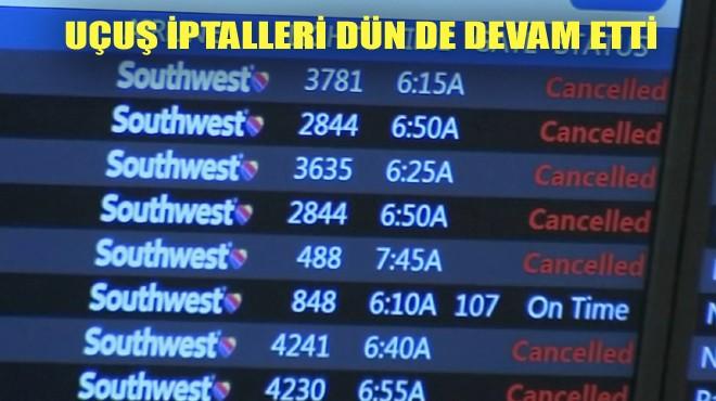 SOUTHWEST AIRLINES'TA KAOS