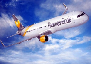 THOMAS COOK DALAMAN'A UÇUYOR