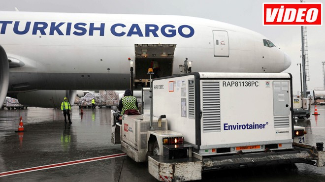 TURKISH CARGO AŞI TAŞIYOR