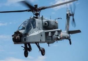 BOEING DEN HİNDİSTAN A APACHE HELİKOPTER