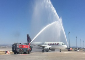QATAR AIRWAYS ANTALYA'DA