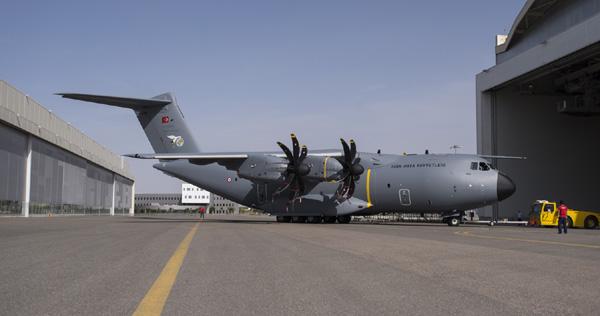 Uçak türk hava kuvvetleri ne teslim edilecek 10 uçaktan ilki