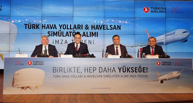 THY için ilk yerli simülatörü HAVELSAN üretecek